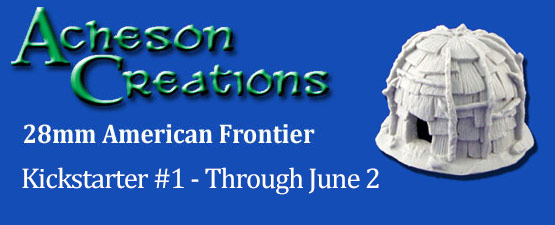 KickStarter - 28mm American Frontier