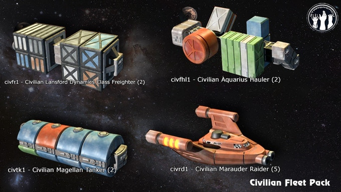 Civilian Fleet Pack 1