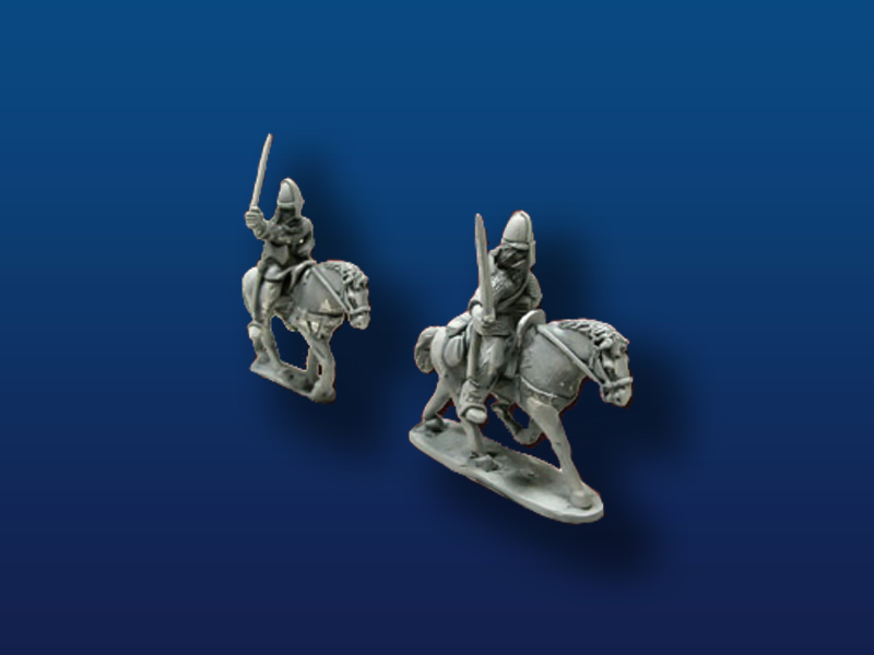Mounted Vikings w/ Sword & Shields(2)