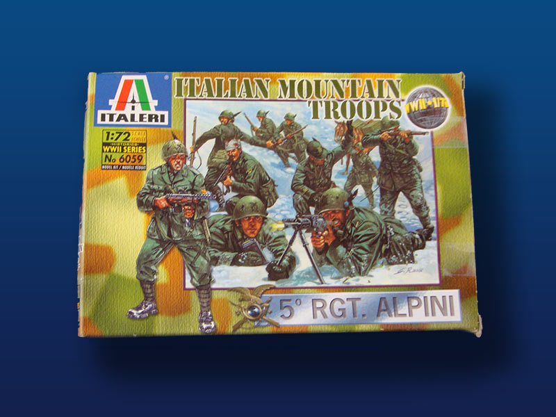Italeri Italian Mountain Troops