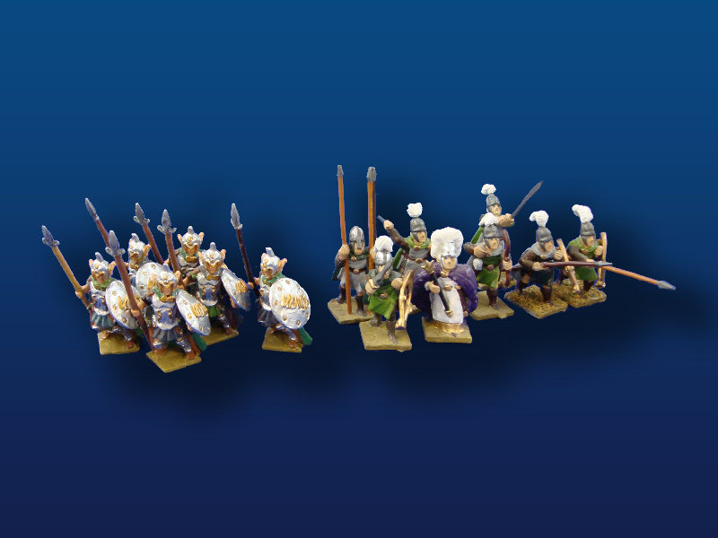 25mm  Heritage & Minifigs Elves (14)