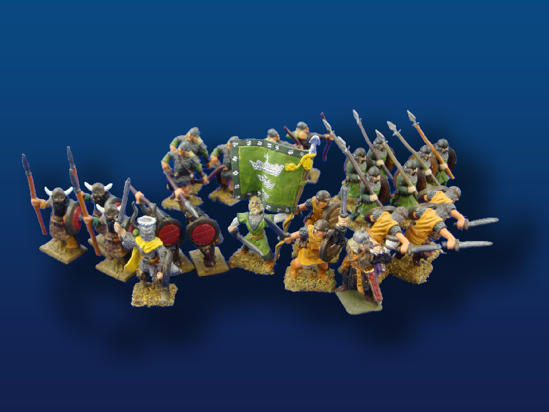25mm  Heritage Rohan Warriors   (24)
