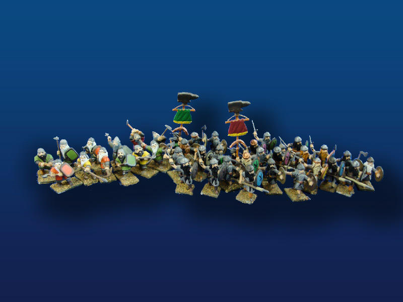 25mm  Minifigs/Heritage  Dwarves (41)