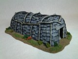 Juron Longhouse painted by James Finneran