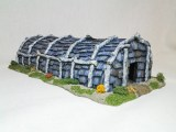 Iroquois_Longhouse painted by James Finneran