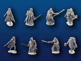 Adventurers #1 miniatures 4-pack