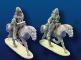 Mounted Vikings w/ Spears/Shields, unarmoured(2)