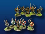 Viking Leaders w/ Swords & Shields (4)