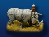 Indian Rhino (pewter)
